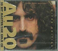 Zappa, Frank Apostrophe (') 24 Karat Gold CD Ryko AU20 Neu OVP Sealed RCD80519