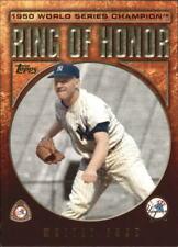 2009 Topps Ring Of Honor Baseball Card Pick 1-100