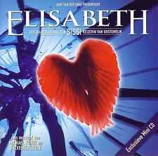 ELISABETH (Sissi) Musical NL PROMO CD 3tr 1999 Holland RARE