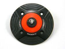 Ducati Gas Cap w/CF Key - 1199/1299/899/959 PANIGALE, XDiavel, Scarmbler, SF