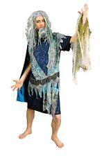 Kostüm Poseidon Meeresgott Wassergeist Gr.46-60 Halloween Fasching NEU