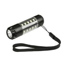 Yunmai aleación de aluminio LED Antorcha linterna lampara recargable AA RP