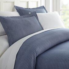 Home Collection Premium Ultra Soft Blue Diamond Pattern 3 Piece Duvet Cover Set