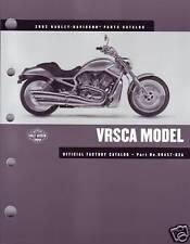 HARLEY Teilebuch 2002 VROD Teilekatalog 99457-02A OVP