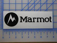 "Marmot Logo Decal Sticker 7.5"" 10"" Jacket Coat Pants Pack Tent Gloves Bag"