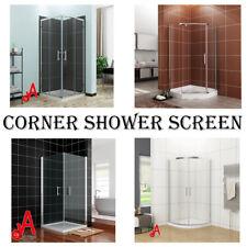Corner Shower Screen Square Sliding/Double Pivot/Diamond Shape/Curved Quadrant