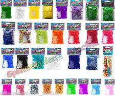 ORIGINAL Rainbow Loom Mix Kombis Farben Glow Jelly Camuflage Neon Glitzer Pastel