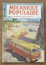 Mecanique populaire,1947 N° 17