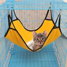 Pet Cat Hanging Hammock Soft Fleece Hamster Rabbit Cage Bed Ferret Mat Cute