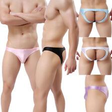 Men's Lingerie Underwear Backless JockStrap Sissy Panties Hip Empty Brief S M L