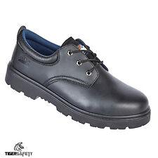 Himalayan 1410 S3 Cuir Noir Coque Acier Orteils Chaussures De Sécurité Tailles
