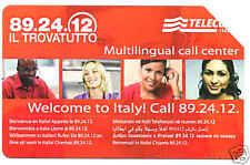 IL TROVATUTTO SCHEDA TELEFONICA TELECOM 1017 USATA