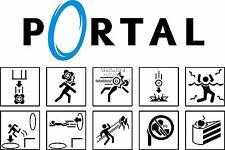 RGC Huge Poster - Portal 2 Science Symbol PS3 XBOX 360 - POR009
