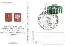 Poland 1983 Cp 830 John Paul II pope papa papst (83/8)