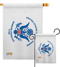 Coast Guard Garden Flag Military Uscg Homeland Security Coasties Yard Banner