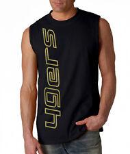 NEW 49ers VERT SHIRT Sleeveless T-shirt LARGE XL 2XL San Francisco Blue Wave