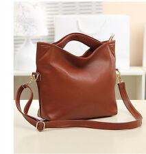 90819d6a7e55f4 Christmas gift Women Ladies Leather Shopper Tote Canvas Shoulder Bag Handbag