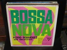 Pedro Rodriguez Bossa Nova vinyl LP RARE SUTTON VG+