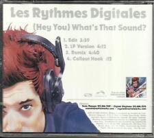 LES RHYTHMES DIGITALES What that EDIT & REMIX PROMO CD Single Sound SEALED