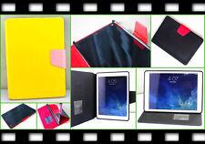 Flip smart case cover slim bolsa estuche funda protectora Apple iPad Air 5 + SIM aguja