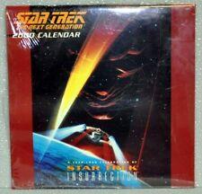 Star Trek Next Generation 2000 Calendar