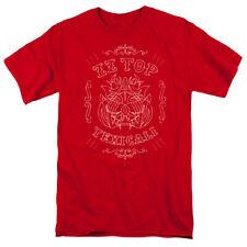 Zz Top Texicali Demon Mens Short Sleeve Shirt