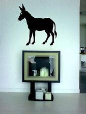 Wandtattoo Esel, aus Wandfolie, geschnitten, wallart, leicht aufzukleben