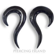 Paar ! 3mm / 4mm / 6mm Krallen Claws Horn Flesh Tunnel Plug Ohr Ear Piercing 017