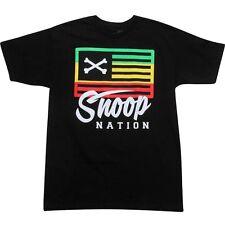 Neff Snoop Nation Tee black fashion shirt