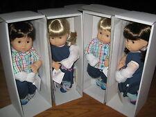 BITTY TWINS twin American Girl Boy Blond Brown Hair Blue Eyes Doll 2B 2G 3B 3G