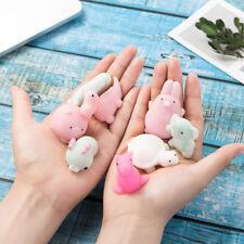 1X Cute Mochi Squishy Squeeze Healing Fun Kids Kawaii Toy Stress Reliever Decor