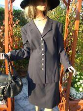 LUXUS Escada Couture Blazer BUSINESS 44/46 NP1180,-schwarz gold Kostüm Rock Golf