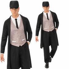 Peaky Blinder Mens Stag Costume Adults 1920s Pimp Fancy Dress Brummie Gangster