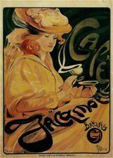 Vintage Advertisment Poster Art Nouveau Cafe WIA047 Art Print A4 A3 A2 A1