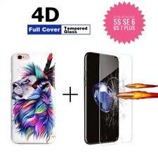 """COVER per Apple Iphone 5s SE 6s 7 / Plus """"Hard Case Jam"""" 4D + PELLICOLA VETRO 9H"""