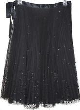 Womens Express Black Sequin Skirt Size 3/4
