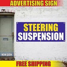 Steering Suspension Banner Advertising Vinyl Sign Flag fix repair service engine