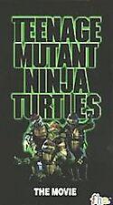 Teenage Mutant Ninja Turtles - The Movie (VHS, 1990) with original sleeve