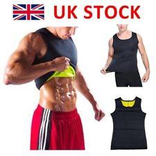 Men HOT Slimming Vest for Man Boobs Weight Loss Trimmer Sauna Belt Shaper Shirt