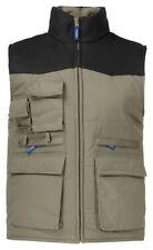 Quality ProJob Padded Contrast Gilet, Bodywarmer, Vest, Waistcoat