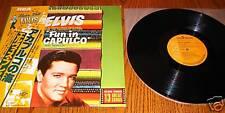 ELVIS PRESLEY  JAPAN LP FUN IN ACAPULCO with OBI
