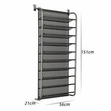36 Pair Shoe Rack Over Door Hanging Shelf 10 Tier Organiser Wall Mounted S Saver