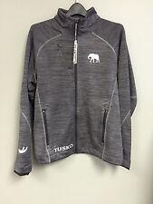 Men's Alabama Double Layered Dark Grey Jacket with Elephant
