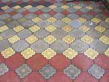 PAVIMENTAZIONE IN CALCESTRUZZO vialetto da giardino soletta BRICK PLASTICA Pavimento Piastrella MUFFA