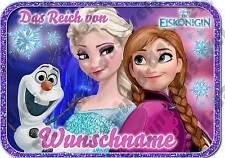✿ Die Eiskönigin ✿ Elsa & Anna ✿ Türschild + Wunschname NEU Din A4 / A5 + Name ✿