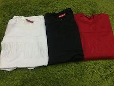 Supreme F/W 2014 Track Crewnecks Sweater Red Black White