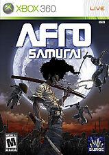 Afro Samurai (Microsoft Xbox 360, 2009) MINT