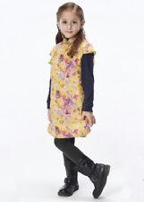 100% Fait Main Robe d'Hiver Fille Qipao Cheongsam en Coton Mode Enfant #208
