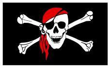 Pirate Flag Sticker Decal F686