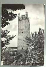 vecchia cartolina di rovigo torre dona